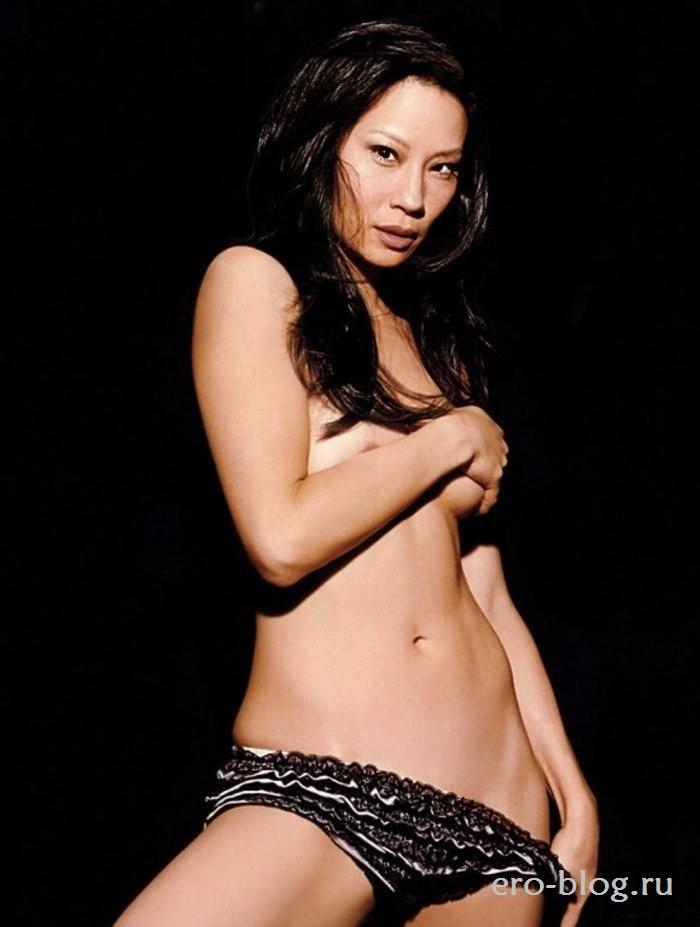 Голая Lucy Liu фото, Обнаженная Люси Лью