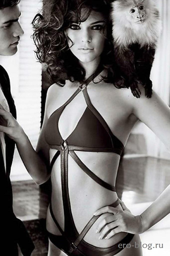 Голая обнаженная Kendall Jenner | Кендалл Дженнер интимные фото звезды