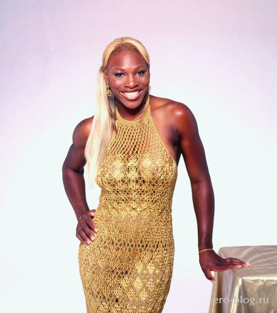 Голая обнаженная Serena Williams | Серена Уильямс интимные фото звезды