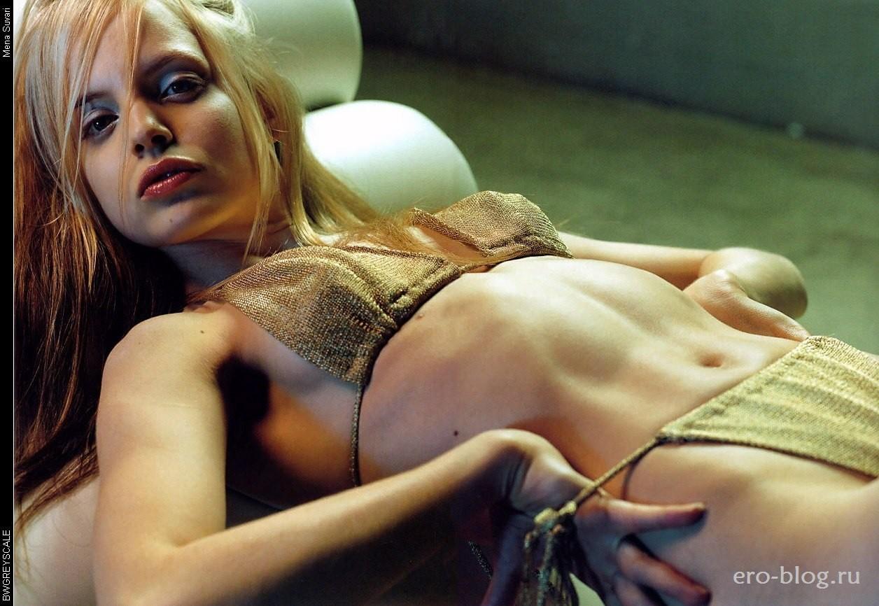 Голая обнаженная Mena Suvari | Мина Сувари интимные фото звезды