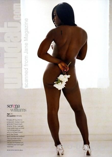 Голая обнаженная Серена Уильямс интимные фото звезды