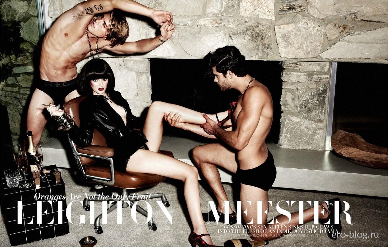 Голая обнаженная Leighton Meester | Лейтон Мистер интимные фото звезды
