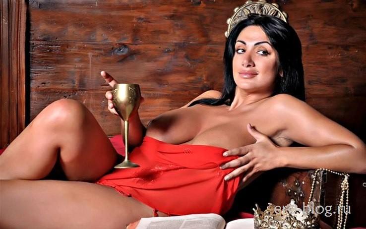 Голая обнаженная Марика Фрусцио интимные фото звезды