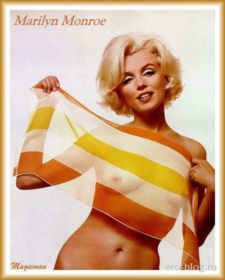 Голая Marilyn Monroe фото, Обнаженная Мэрилин Монро