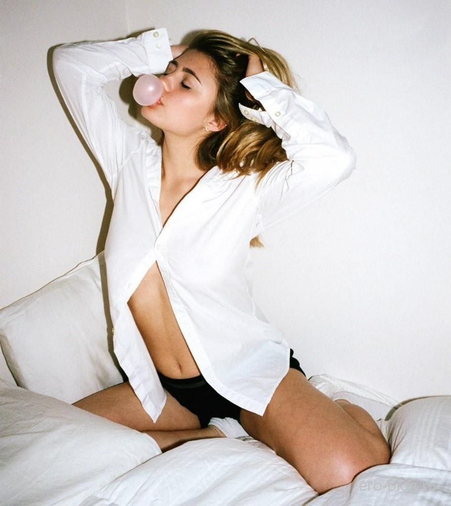 Голая обнаженная Lia Marie Johnson | Лия Мари Джонсон интимные фото звезды