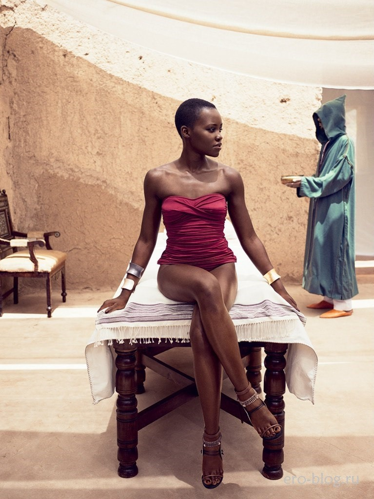 Голая Lupita Nyong'o фото, Обнаженная Люпита Нионго
