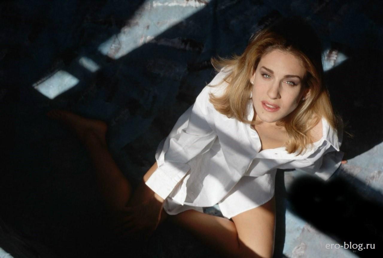 Голая обнаженная Сара Джессика Паркер интимные фото звезды