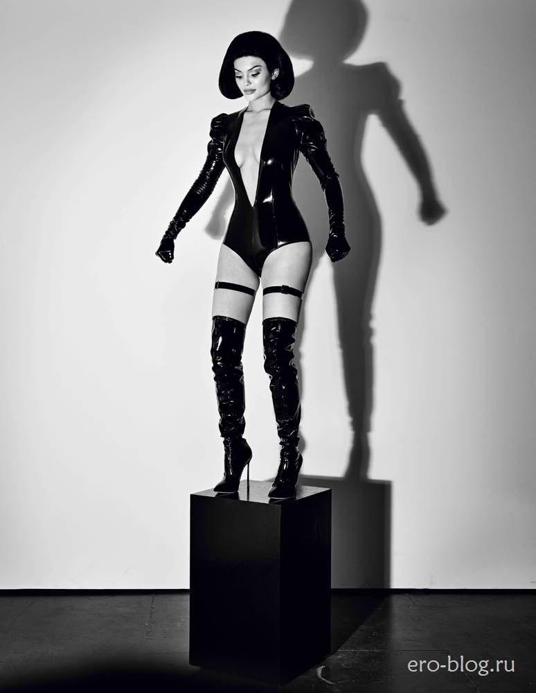 Голая обнаженная Kylie Jenner | Кайли Дженнер интимные фото звезды