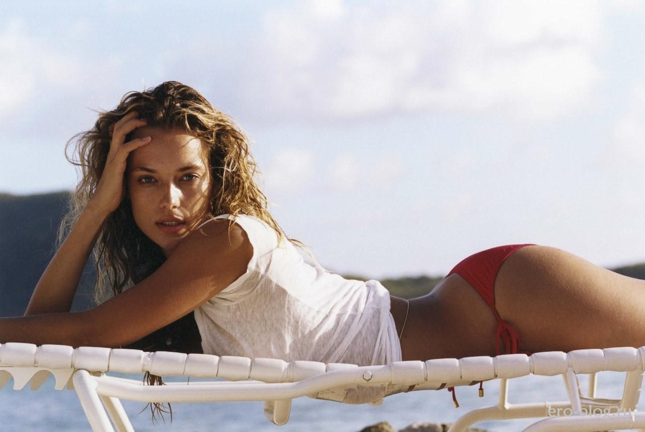 Голая обнаженная Hannah Ferguson | Ханна Фергюсон интимные фото звезды