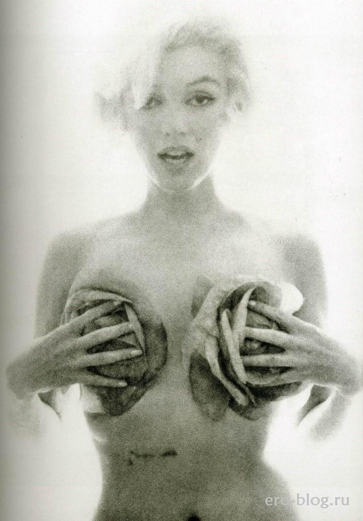 Голая обнаженная Marilyn Monroe | Мэрилин Монро интимные фото звезды