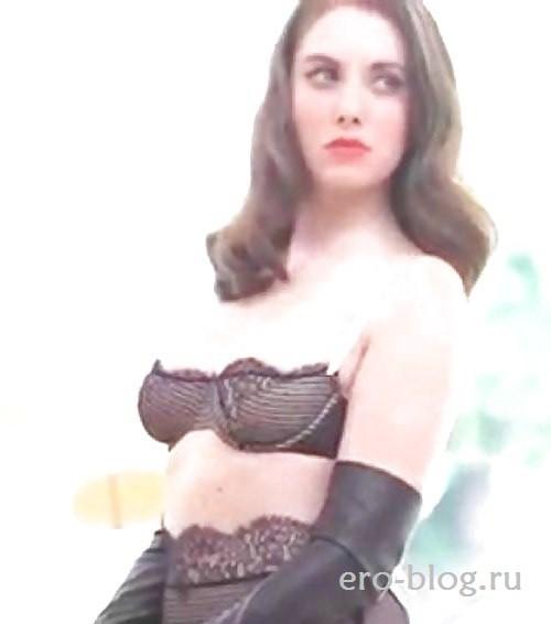 Голая обнаженная Элисон Бри интимные фото звезды