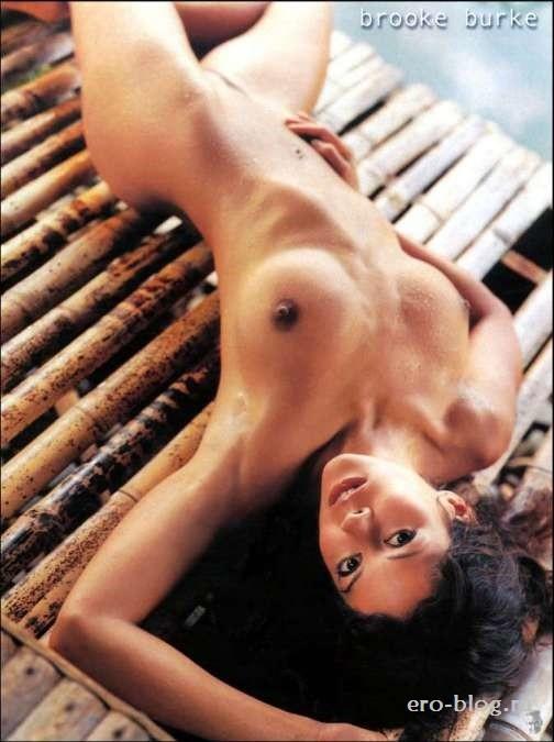 Голая обнаженная Brooke Burke | Брук Бёрк интимные фото звезды