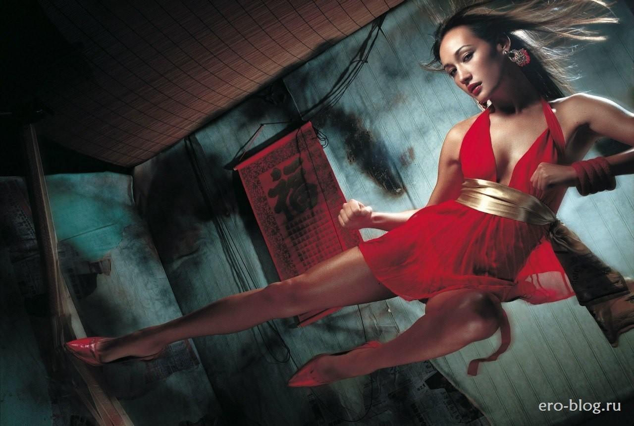 Голая обнаженная Maggie Q | Мэгги Кью интимные фото звезды