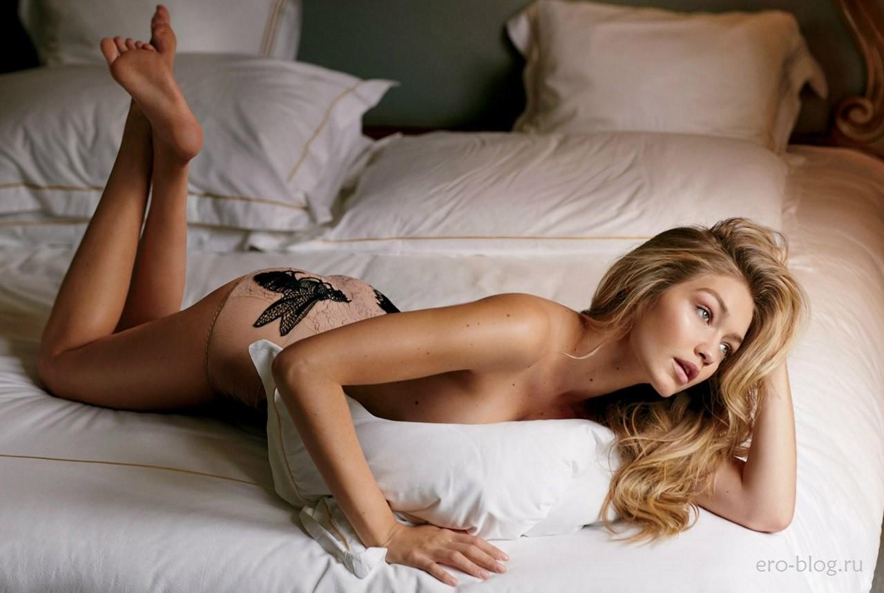 Голая обнаженная Gigi Hadid | Джиджи Хадид интимные фото звезды