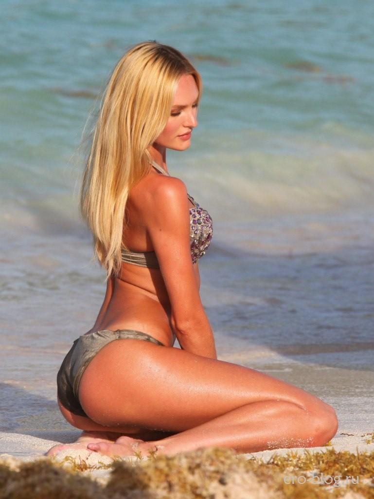 Голая обнаженная Candice Swanepoel | Кэндис Свейнпол интимные фото звезды