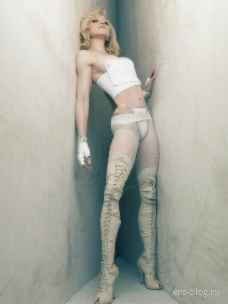 Голая обнаженная Мадонна интимные фото звезды