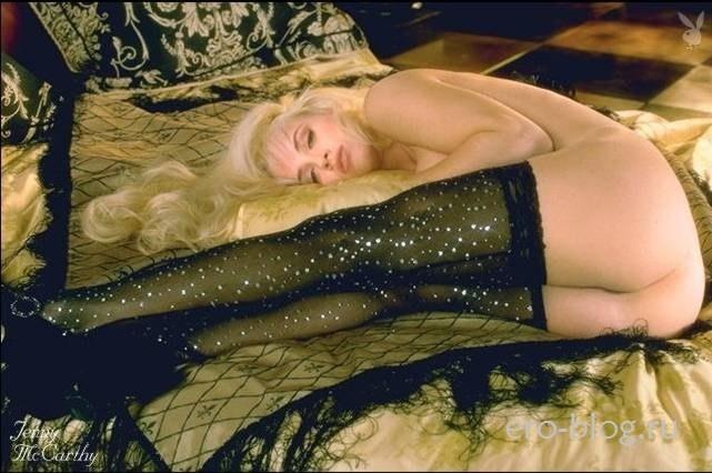 Голая обнаженная Дженни Маккарти интимные фото звезды