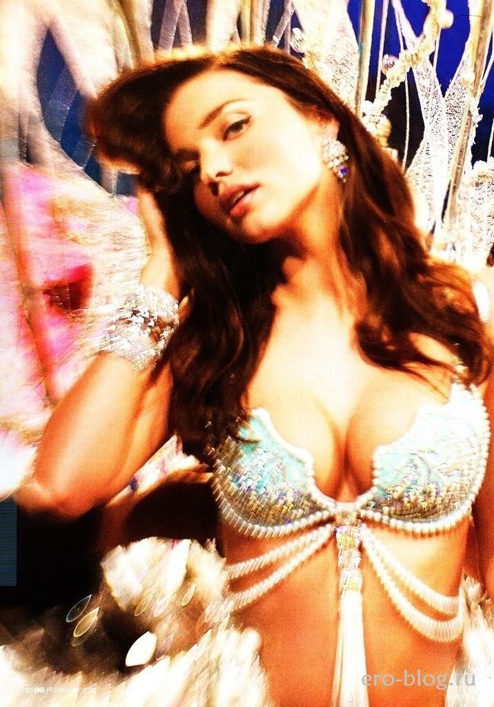 Голая обнаженная Miranda Kerr | Миранда Керр интимные фото звезды