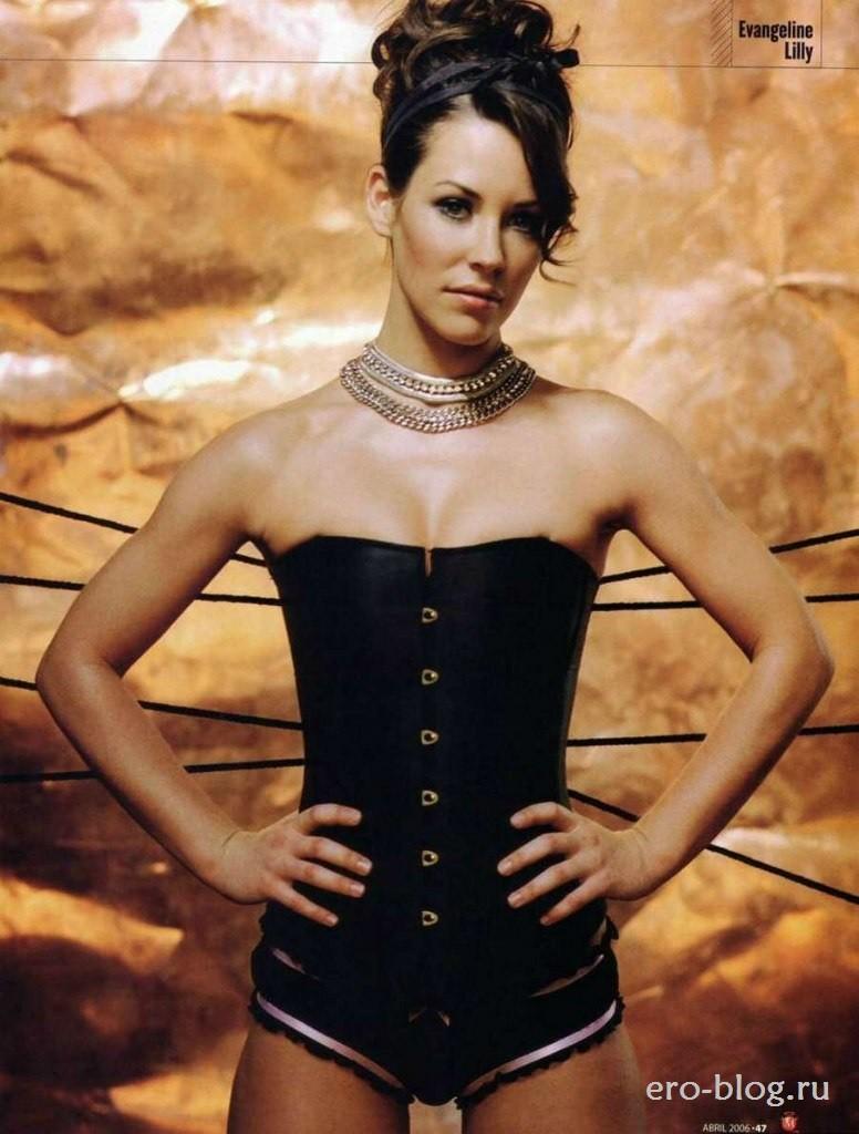 Голая обнаженная Evangeline Lilly | Эванджелин Лилли интимные фото звезды