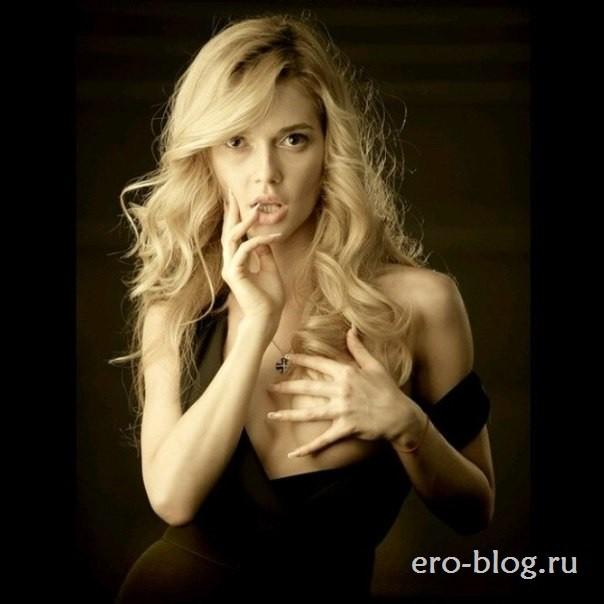 Голая обнаженная Эрика Герцег интимные фото звезды