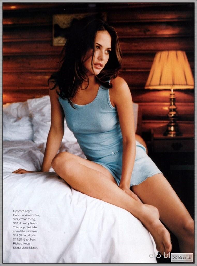 Голая обнаженная Josie Maran | Джози Маран интимные фото звезды