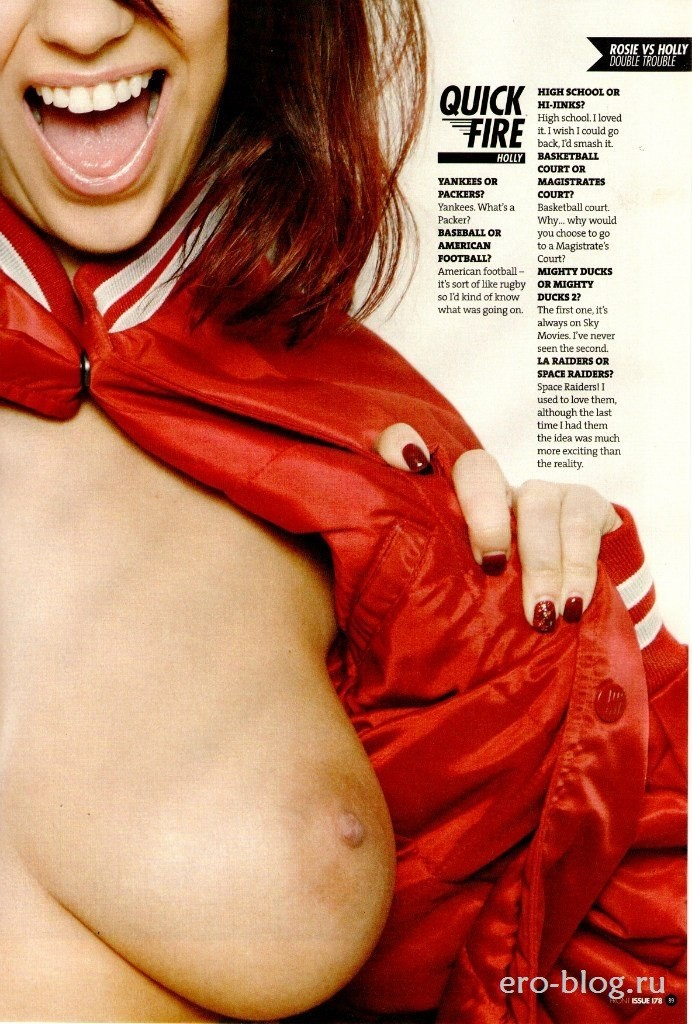 Голая обнаженная Holly Peers | Холли Пирс интимные фото звезды
