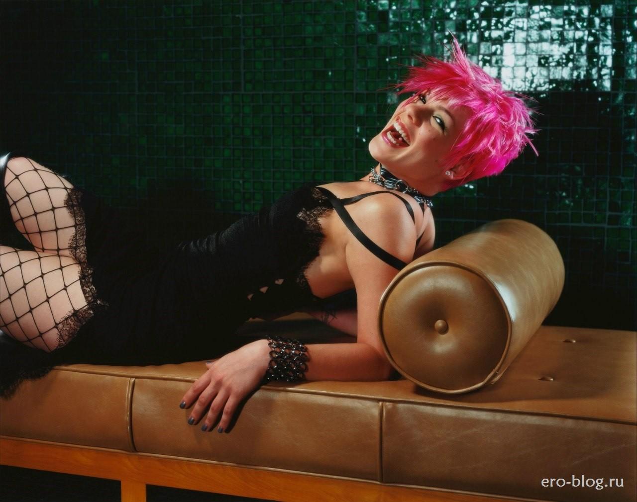 Голая обнаженная Pink | Пинк интимные фото звезды