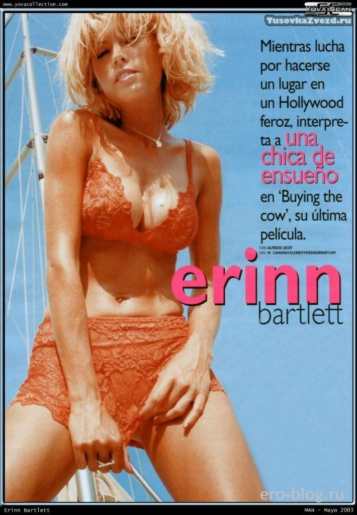 Голая обнаженная Erinn Bartlett | Эринн Бартлетт интимные фото звезды