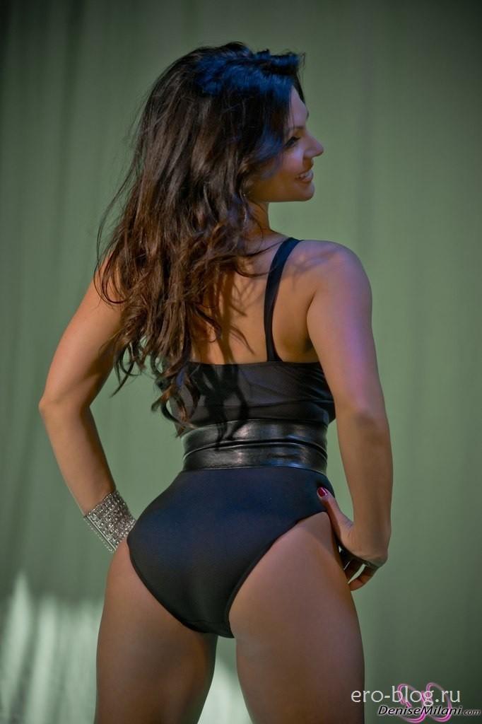Голая обнаженная Denise Milani | Дениз Милани интимные фото звезды