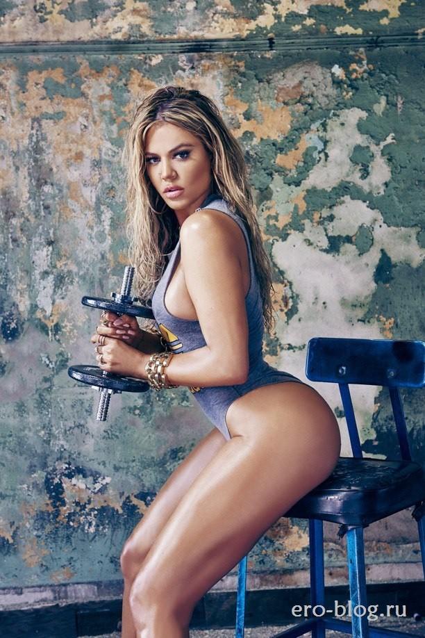 Голая обнаженная Khloe Kardashian | Хлои Кардашьян интимные фото звезды