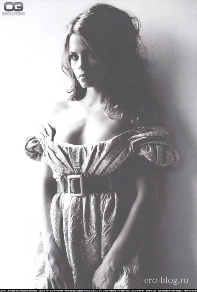 Голая обнаженная Jenna Dewan | Дженна Деван интимные фото звезды