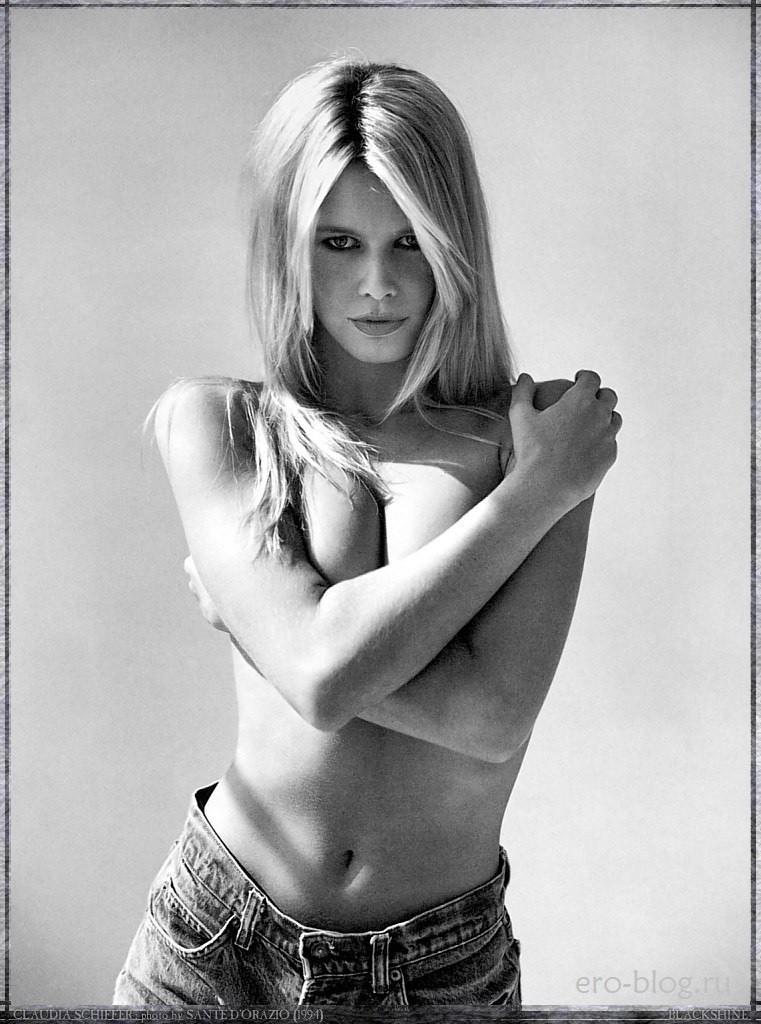 Голая Claudia Schiffer фото, Обнаженная Клаудия Шиффер