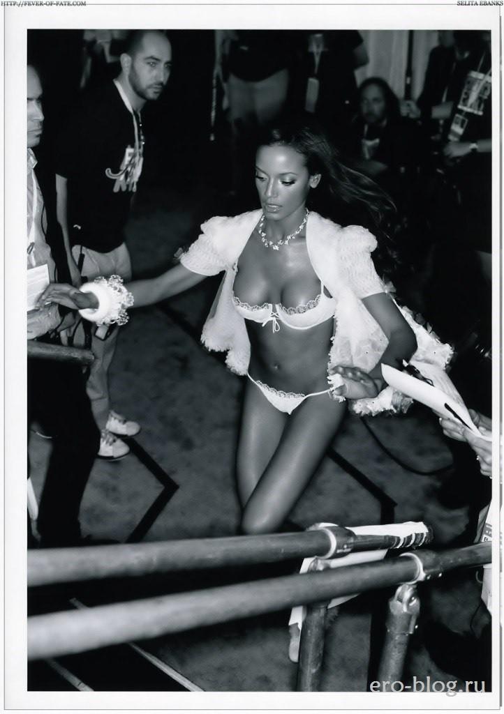 Голая обнаженная Selita Ebanks | Селита Ибэнкс интимные фото звезды