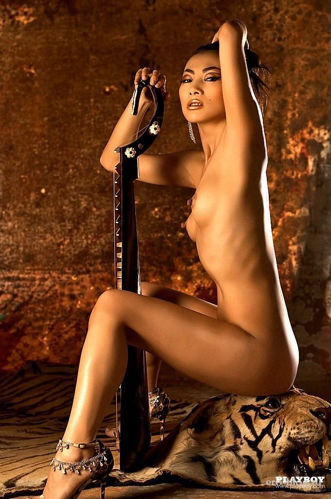 Голая обнаженная Bai Ling | Бай Лин интимные фото звезды