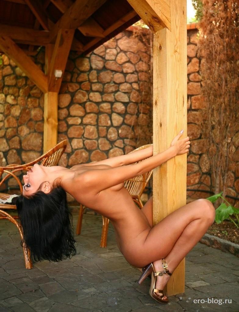 Голая обнаженная Анна Карапетян интимные фото звезды