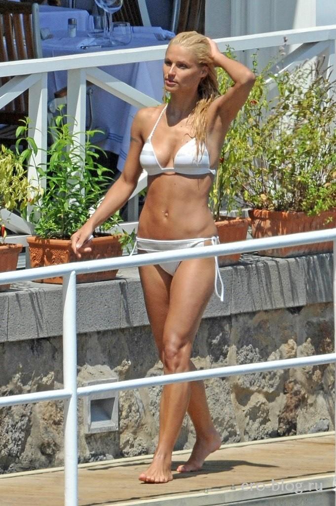 Голая обнаженная Michelle Hunziker | Мишель Хунцикер интимные фото звезды
