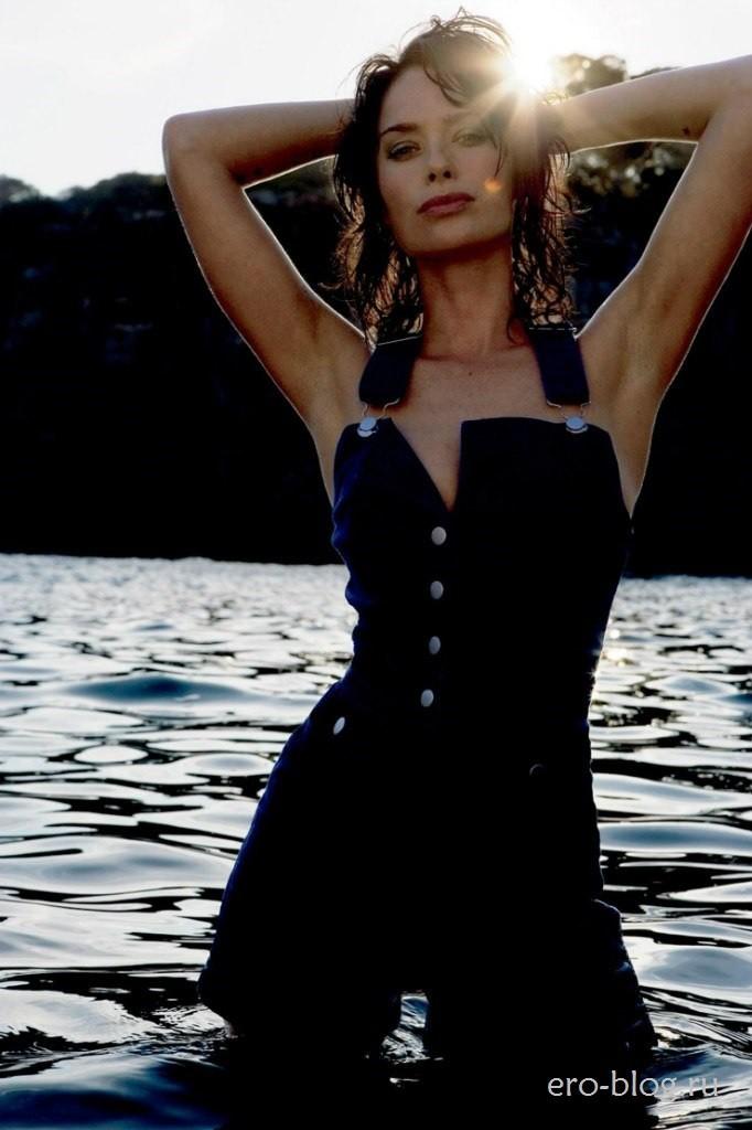 Голая обнаженная Лена Хиди интимные фото звезды