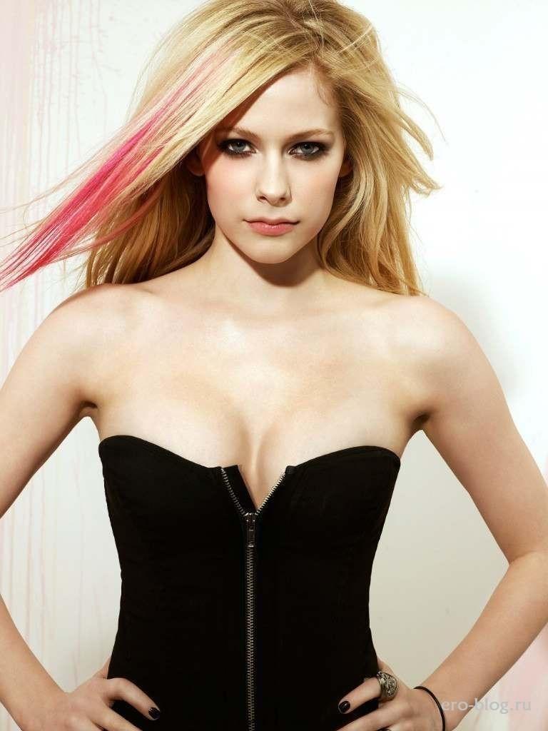 Голая обнаженная Avril Lavigne | Аврил Лавин интимные фото звезды