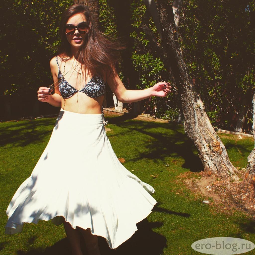 Голая обнаженная Hailee Steinfeld | Хейли Стайнфелд интимные фото звезды