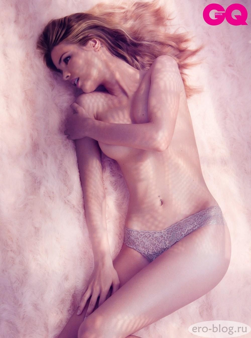 Голая обнаженная Yasmin Brunet | Ясмин Брунет интимные фото звезды