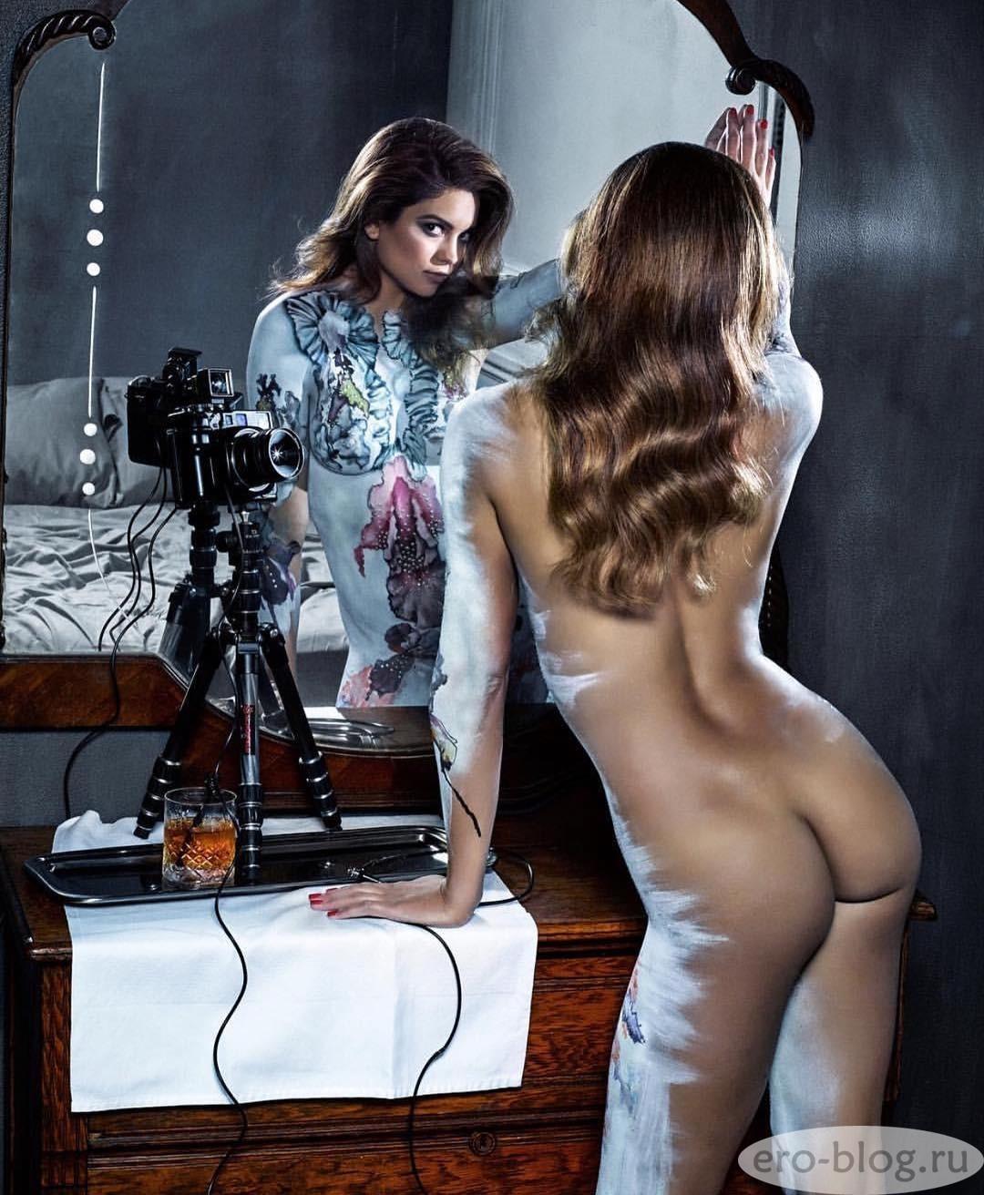 Голая обнаженная Кира Санторо интимные фото звезды