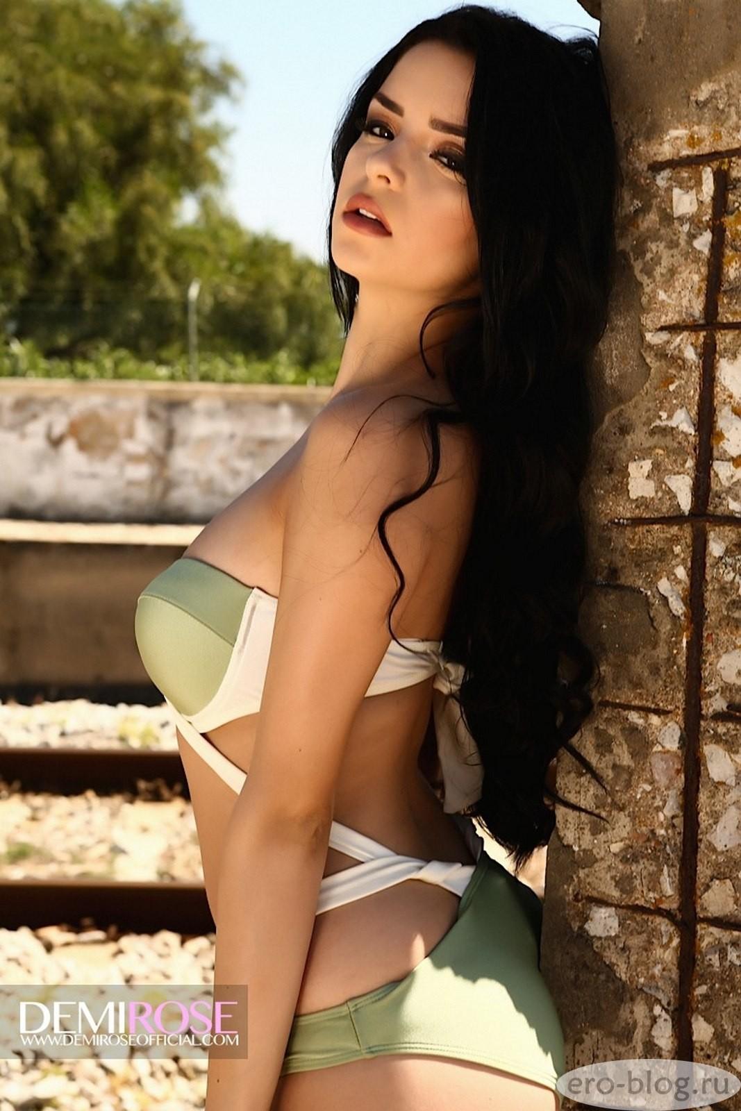 Голая обнаженная Demi Rose | Деми Роуз интимные фото звезды