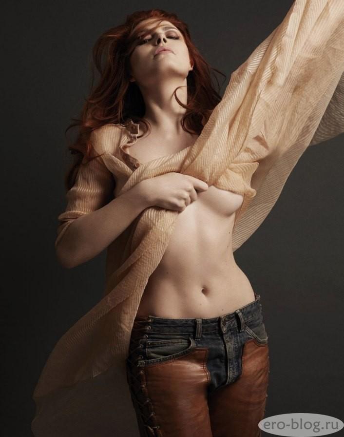 Голая обнаженная Elodie Frege | Элоди Фреже интимные фото звезды