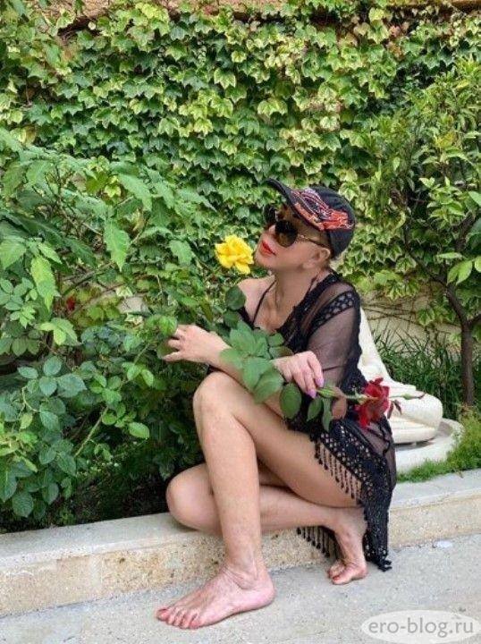 Голая обнаженная Любовь Успенская интимные фото звезды