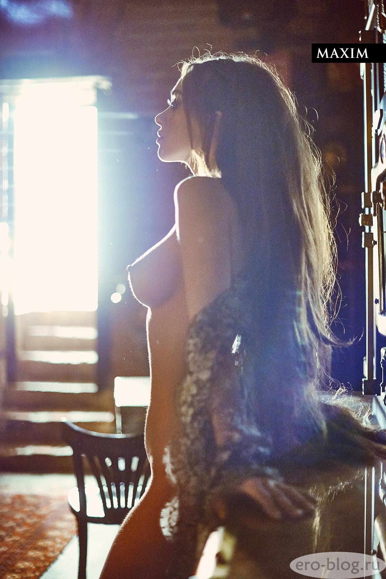 Голая обнаженная Юлия Франц интимные фото звезды