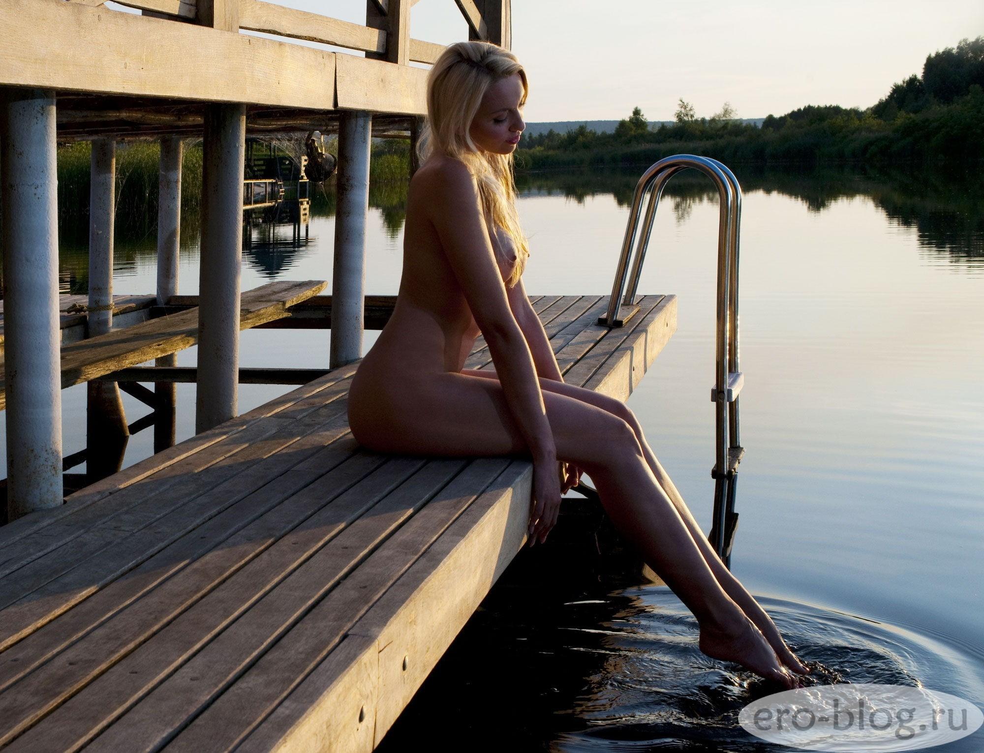 Голая обнаженная Оля Полякова интимные фото звезды