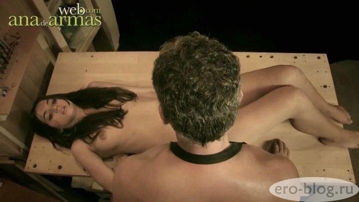 Голая обнаженная Ана де Армас интимные фото звезды