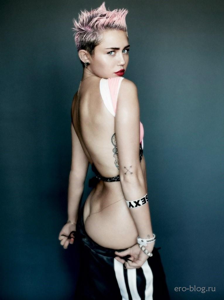 Голая Miley Cyrus фото, Обнаженная Майли Сайрус