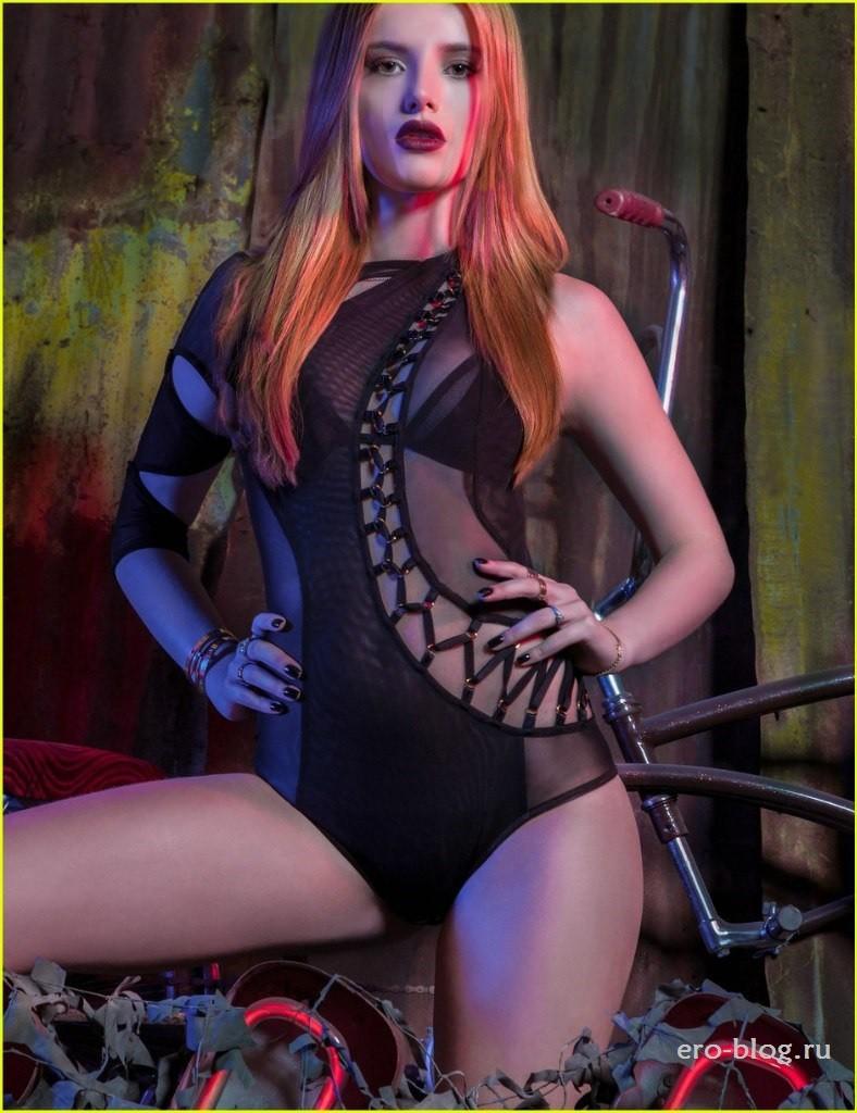 Голая Bella Thorne фото, обнаженная Белла Торн