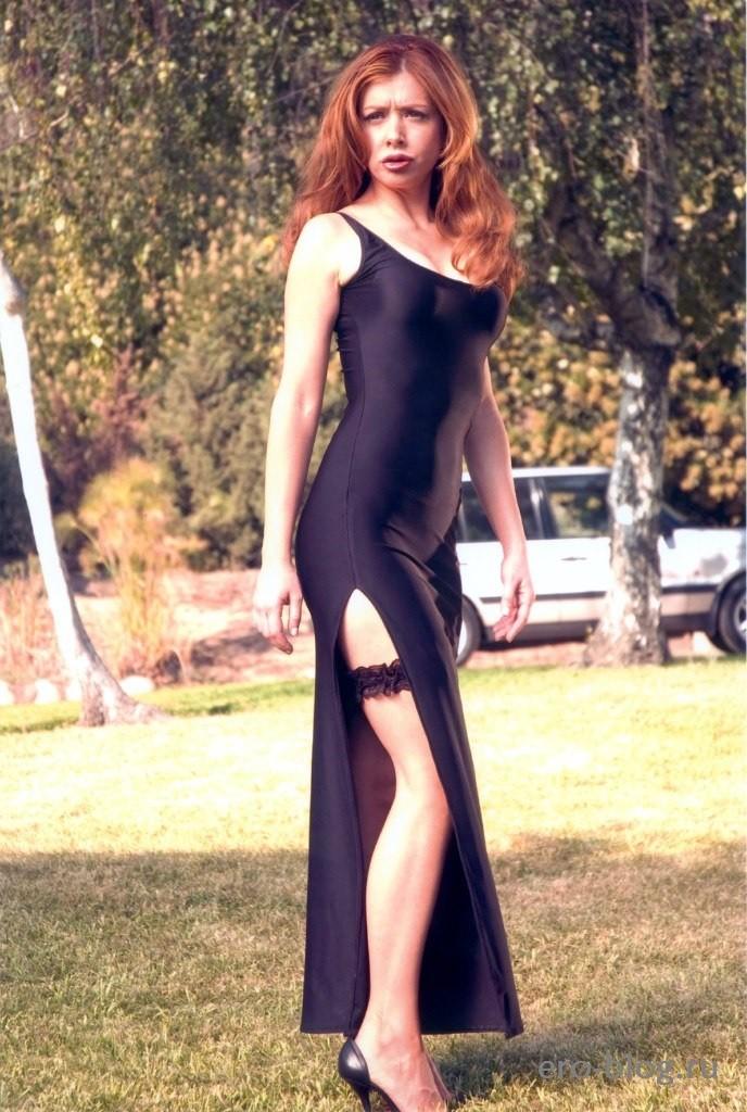 Голая Alyson Hannigan фото, обнаженная Элисон Ханниган